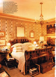 Howard Slatkin ~ NYC bedroom