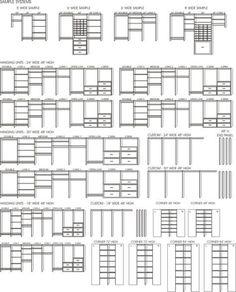 Closet Organizer Symbols View more at http://www.contemporaryclosets.com #closet… #closetorganizer