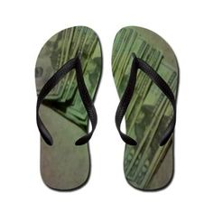 Perfect for #FathersDay Flip Flops: The Money Flop.  $16.79