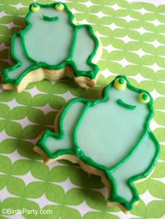 """For leap year what better idea than a """"Leap Frog Party"""""""