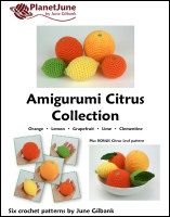 amigurumi citrus collection crochet pattern