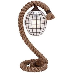 @Overstock - Metal Rope Pier Table Lamp looks like a decorative sculpture. Ideal for nautical theme decor, it delivers special lighting effect in the room. This pier lamp comes with pier stand that is made over a sturdy steel wire clad with natural jute-nylon rope. http://www.overstock.com/Home-Garden/Nautical-Rope-Pier-Metal-Table-Lamp/6344995/product.html?CID=214117 $98.99
