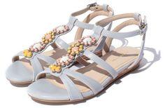 Jelly Beans ビジューストラップサンダル / Bijou Strapped Sandals on ShopStyle