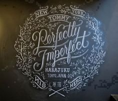 22 Awesome Chalkboard Typography Arts | Bashooka | Cool Graphic & Web Design Blog