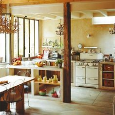 i would cook in this kitchen until i fell down. and then i would just sleep there, i love it so much.