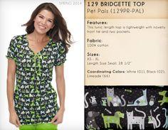 129 BRIDGETTE TOP | 129PR-PAL (Pet Pals)