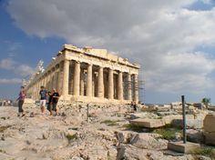 Acropolis, Athens Ancient Greek Art, Ancient Greece, Acropolis, Athens, Vacations, Past, Louvre, Building, Travel
