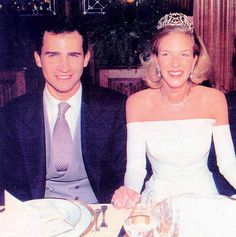 The Prince of Asturias with Archduchess Catharina of Austria