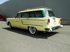 1955 Mercury Monterrey Station Wagon..Re-pin brought to you by agents of #Carinsurance at #HouseofInsurance in Eugene, Oregon