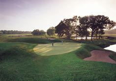 FORE! Tee off at Rivercut Golf Course in Springfield, Missouri