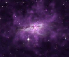 Chandra Reveals Shock Heated Gas in Colliding Galaxies January 28, 2014 A composite image of the colliding galaxies NGC6240; X-ray emission is purple and optical emission is white. Astronomers have discovered X-ray evidence for shock-heated gas moving at speeds of about 2200 kilometers per second, presumably associated with ejecta from supernovae. Credit: X-ray – NASA/ CXC/SAO/E.Nardini et al; Optical – NASA/STS