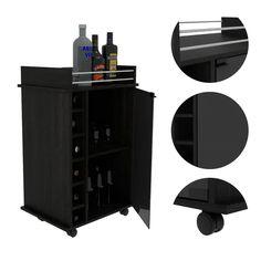 Shop TUHOME Dukat bar cart - On Sale - Overstock - 28749998