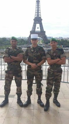 My friend Manuel Baryoul on the right side. French Foreign Legion