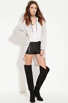 Open-Front Longline Cardigan | Forever 21 #spring