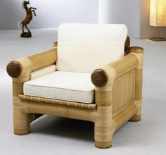 30 Bamboo Furniture to Enhance your Home Style - Bamboo Blessings - Bambus Bamboo Sofa, Bamboo Furniture, Furniture Ads, Cheap Furniture, Luxury Furniture, Furniture Design, Furniture Dolly, Furniture Removal, Furniture Companies