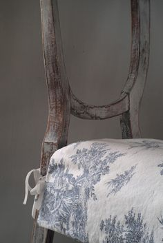 Paste Waxed chair.