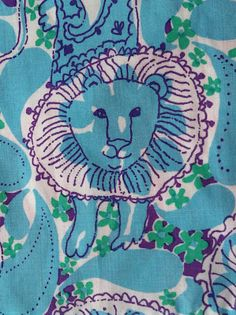 vintage Lilly Pulitzer- the print on my very first Lilly my Dad got me. The beginning of the love