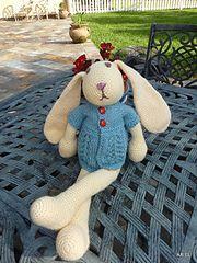 Ravelry: One Skein Bunny pattern by Deb Richey