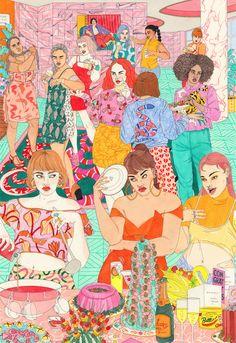 Ilustraciones que retratan los nuevos arquetipos femeninos | The Creators Project