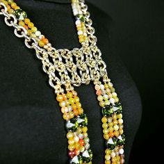 #Necklace. #Jewelry. #Schmuck #gioielli #bijoux. Divina Locura. Colección Dolce Suono. #Collar COSI FAN TUTTE.