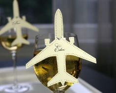 Airplane Place Cards - set of 30