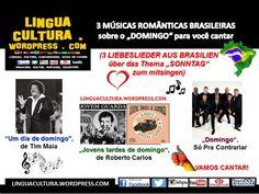 """Músicas Românticas brasileiras com o tema """"domingo"""""""