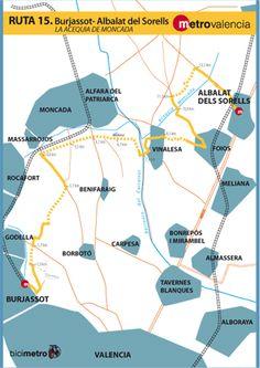 Metrovalencia - Bicimetro - Acequia de Moncada