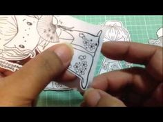Cutting stamped images with the Brother Scan and Cut