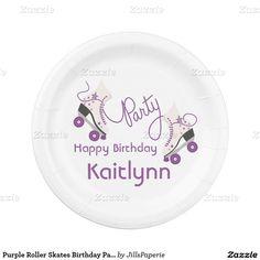 Purple Roller Skates Birthday Party