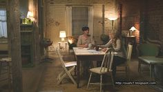 Mary Margaret Blanchard's apartment, Once Upon A Time. (I don't like the show, but am obsessed with all things Mary Margaret.)