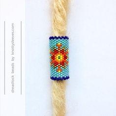 Dreadlock Bead Dread Accessory Hair Jewelry Peyote Stitch   Etsy
