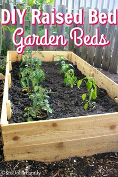 DIY Raised Bed Garde