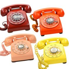 Who remembers the sound that a rotary telephone made?