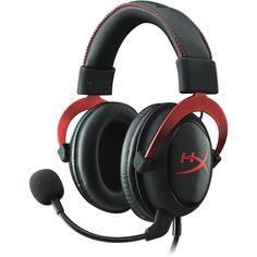 HyperX - Cloud II Gaming Headset - Red, KHX-HSCP-RD