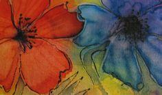 silk painting - Szukaj w Google