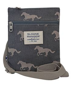 Loving this Gray Horse Crossbody Bag on #zulily! #zulilyfinds