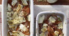 Griechisch: Gebackener Feta aromatisiert mit Fenchel und Zitrone. Ein Top-Rezept für alle, die sich ein Kind wünschen oder bereits schwanger sind.