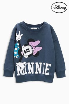 Buy Navy Minnie Mouse™ Crew (3mths-6yrs) from the Next UK online shop