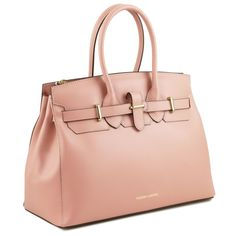 Elettra - Ruga leather handbag with golden hardware - TL141548 – Rehana.co