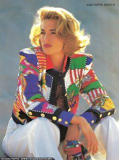 Escada ads 1992 feat………Tatjana Patitz