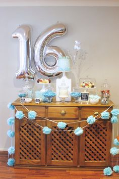 LOLLY BUFFETS - Sweet Traditions Australia. A sweet 16 birthday party candy bar!