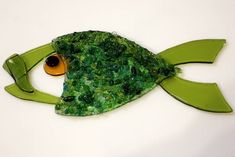 Image result for fused glass fish