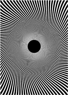 Optical Illusion is Visual Reality by Kurtz Graphic Design Co