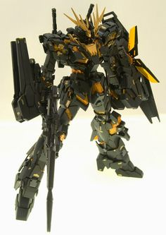 "Custom Build: MG 1/100 ""Full Armor"" Banshee - Gundam Kits Collection News and Reviews"