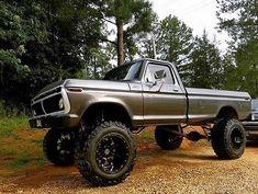 old ford trucks 79 Ford Truck, Ford Pickup Trucks, Lifted Trucks, Old Trucks, Chevy Trucks, Ford 4x4, Truck Drivers, Ford Bronco, Macho Alfa
