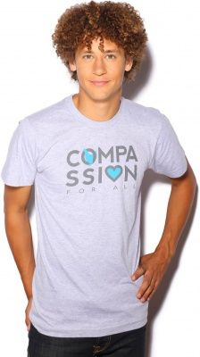 'Compassion' T - Blue Chicken - Mercy For Animals Store