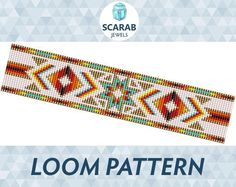 Looking for your next project? You're going to love Native American Style Pattern Loom Bead by designer ScarabJewels. - via @Craftsy