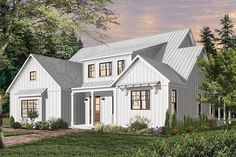 Exclusive Split-Bedroom Modern Farmhouse Plan with Main-Floor Master - 22532DR - 08