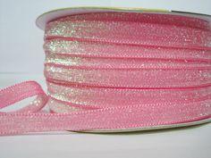 Craft supplies and Handmade Tassels by ichimylove Glitter Ribbon, Pink Glitter, Velvet Ribbon, Pink Velvet, Bulk Ribbon, Wholesale Ribbon, Pink Sale, How To Make Headbands, Purse Handles