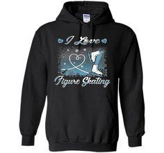 Tshirt | I Love Figure Skating Ice Skater | 2016
